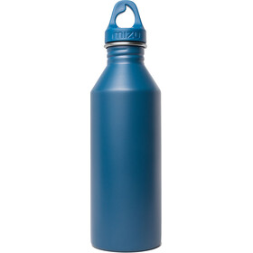 MIZU M8 Bottle with Blue Loop Cap 800ml Enduro Blue